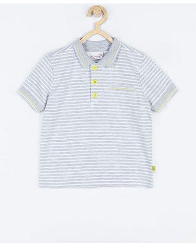 T-shirt szary jasny szary Coccodrillo