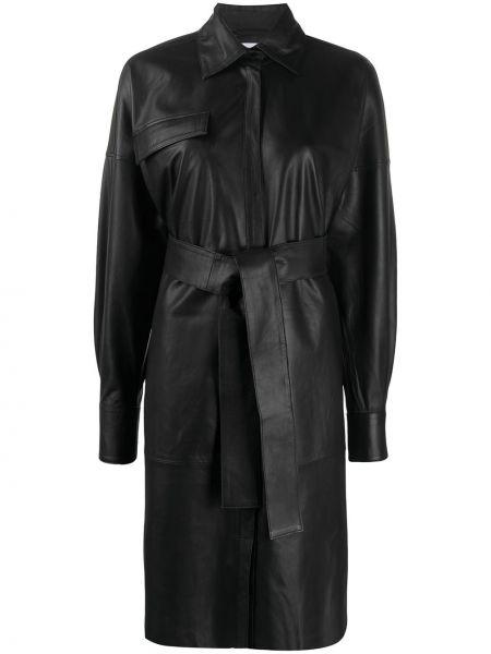 Платье макси через плечо с поясом Remain