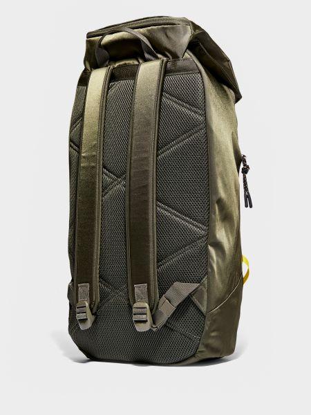 Зеленый нейлоновый стеганый рюкзак Timberland