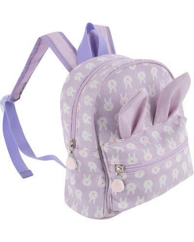 Фиолетовый брендовый рюкзак Kdx