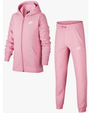 Спортивный костюм розовый костюмный Nike