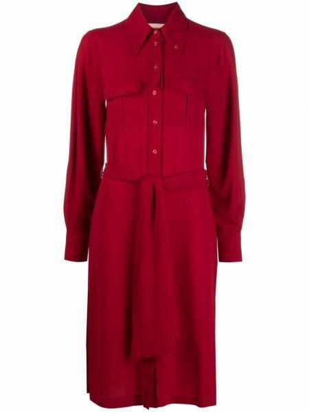 Czerwona klasyczna sukienka Blanca Vita