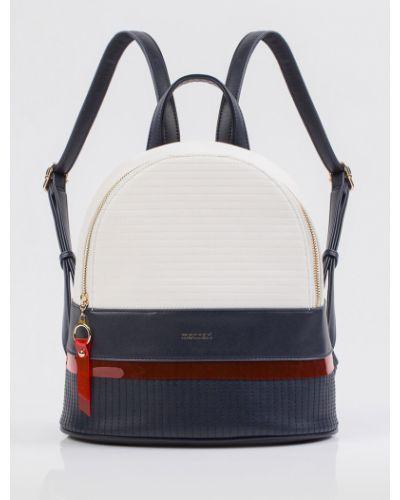 Кожаный рюкзак - синий Monnari