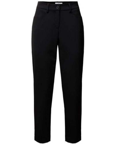 Czarne spodnie materiałowe Brax