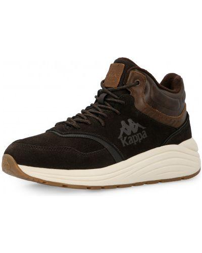 Высокие кроссовки утепленные - коричневые Kappa