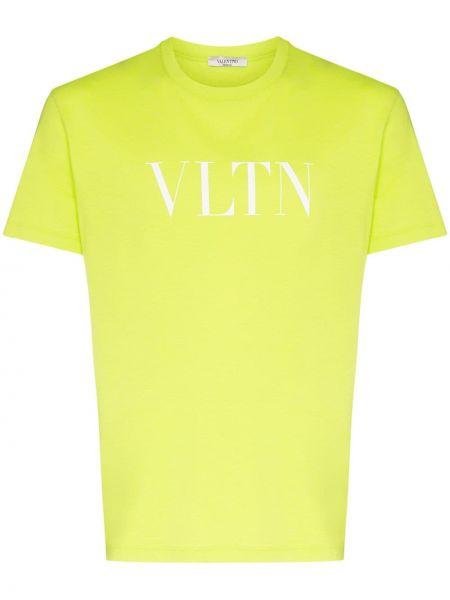Koszula krótkie z krótkim rękawem z nadrukiem z logo Valentino