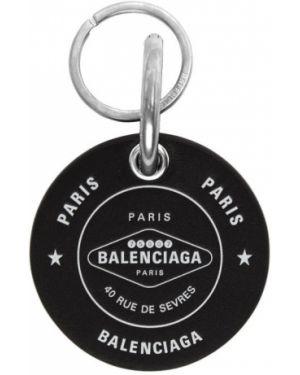 Brelok z logo czarny Balenciaga