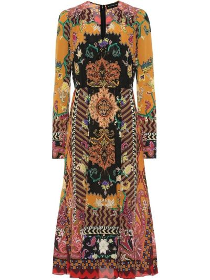 Платье миди шелковое Etro