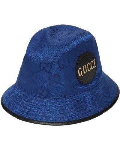 Kapelusz, niebieski Gucci