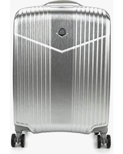 Дорожная сумка серебряного цвета Verage