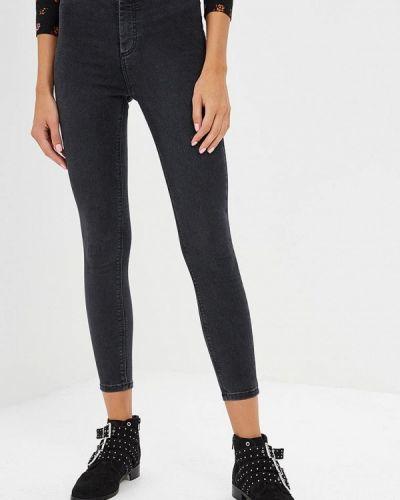Серые джинсы-скинни Topshop