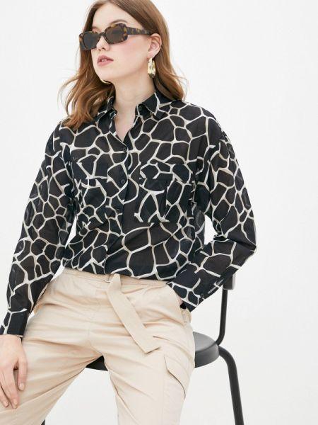 Блузка с длинным рукавом черная весенний Gerry Weber