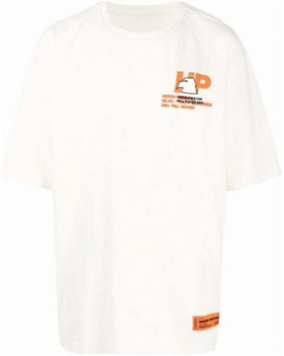 T-shirt - biała Heron Preston