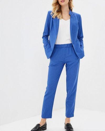 Брючный костюм синий Bezko