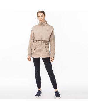 Куртка с капюшоном на резинке Lacoste