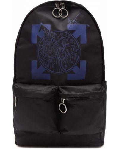 Рюкзак черный текстильный Off-white