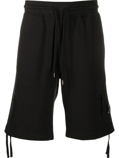 Спортивные шорты с карманами черные C.p. Company
