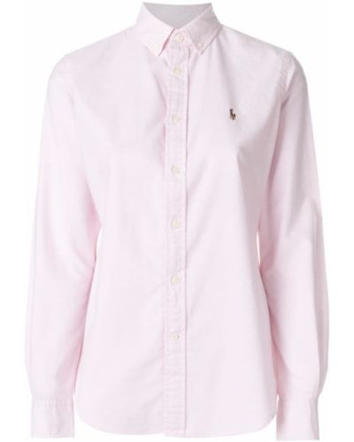 Классическая рубашка с длинным рукавом Polo Ralph Lauren