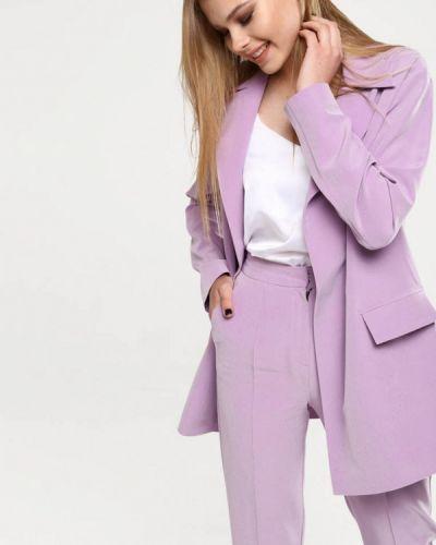 Фиолетовый пиджак Lavana Fashion