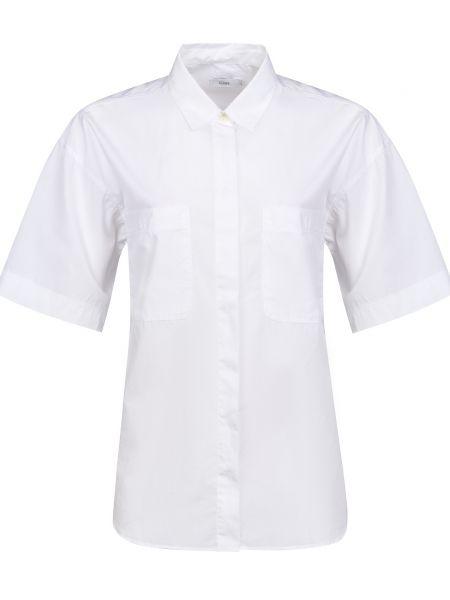 Хлопковая белая рубашка на пуговицах Closed
