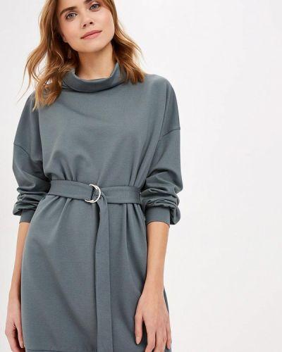 Платье осеннее зеленый Ruxara