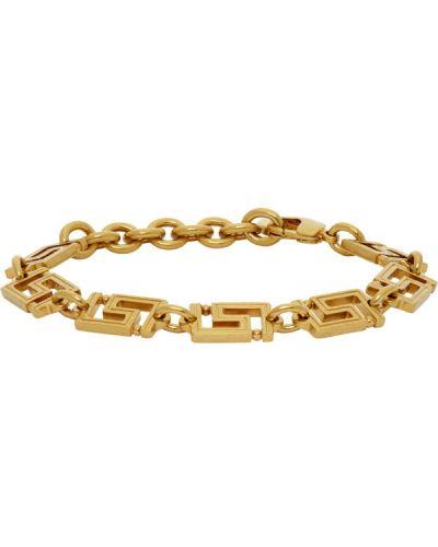Bransoletka złoto Versace