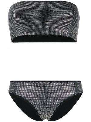 Bikini czarny Philipp Plein