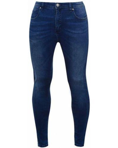 Зауженные джинсы - синие Airwalk