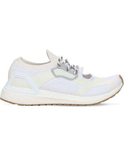 Белые босоножки на шнуровке Adidas By Stella Mccartney