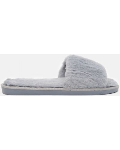 Домашние тапочки - серые Slippers