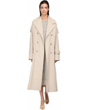 Płaszcz z kieszeniami zapinane na guziki Victoria Beckham