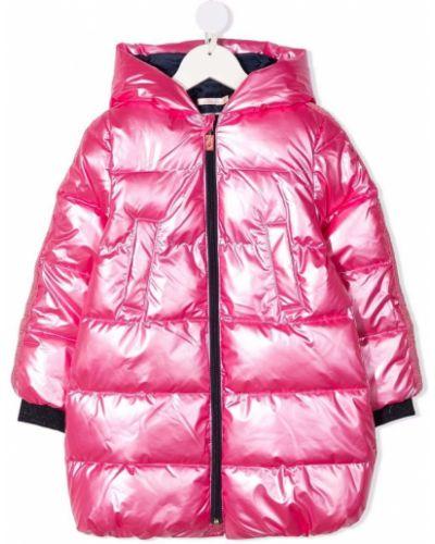 Różowa kurtka z kapturem Billieblush