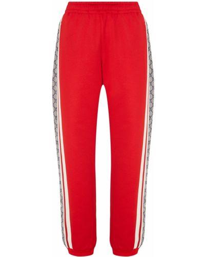 Спортивные брюки с карманами на резинке Gucci Man