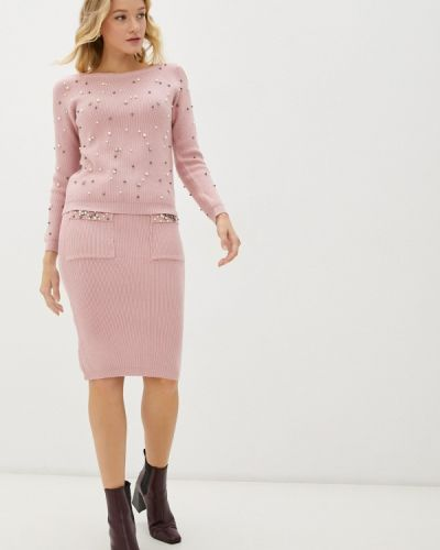 Розовый костюм летний Pink Summer