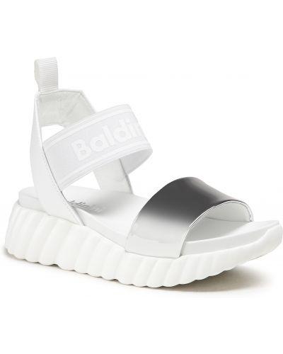 Białe sandały casual Baldinini