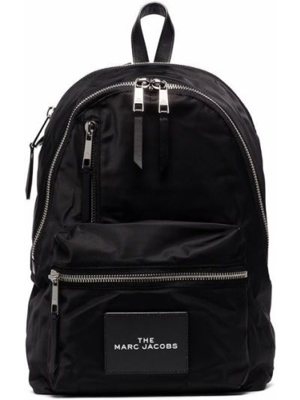 Plecak srebrny - czarny Marc Jacobs