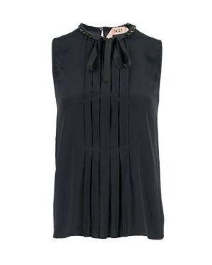 Блузка черная No.21