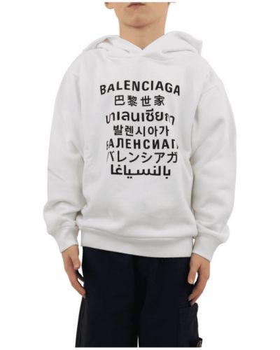 Klasyczna bluza z kapturem Balenciaga