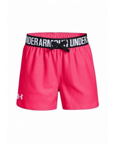 Розовые шорты спортивные Under Armour