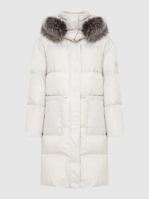 Пуховая куртка - бежевая Yves Salomon Army