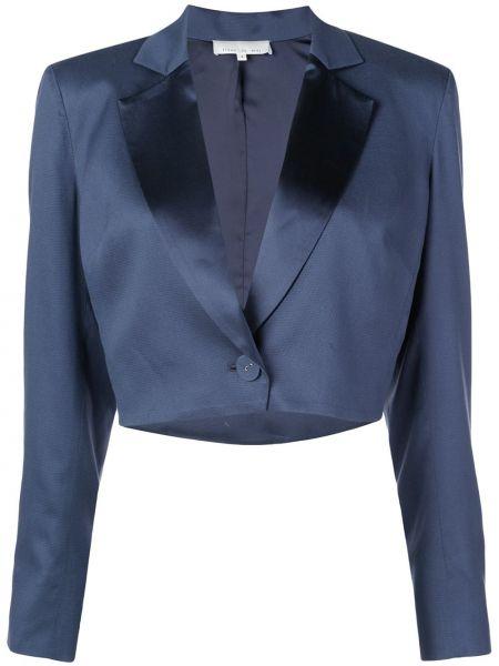 Синий пиджак с манжетами Fleur Du Mal