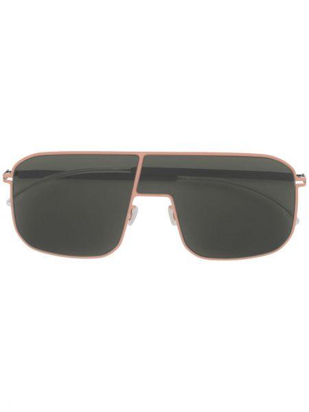 Różowe okulary oversize Mykita