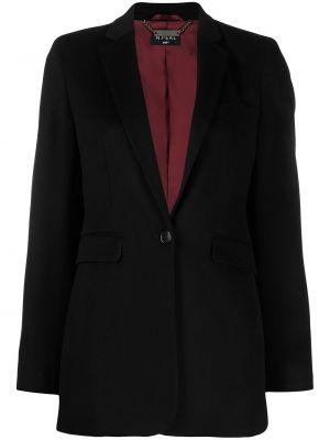 Черный пиджак с подкладкой на пуговицах N.peal