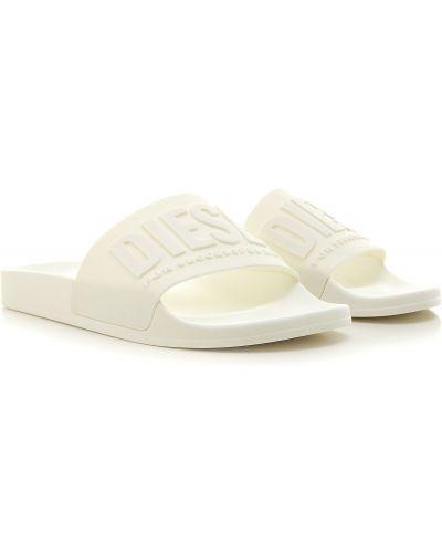 Białe sandały Diesel