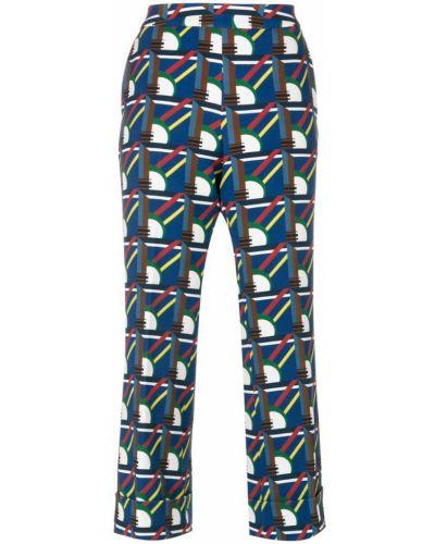 Укороченные брюки с поясом Pardens