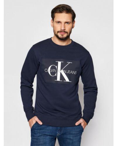 Dres granatowy Calvin Klein Jeans
