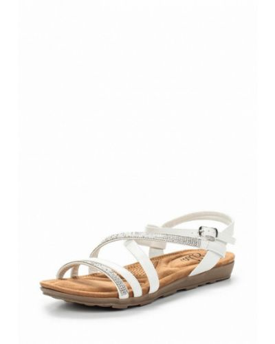 Белые сандалии Ella