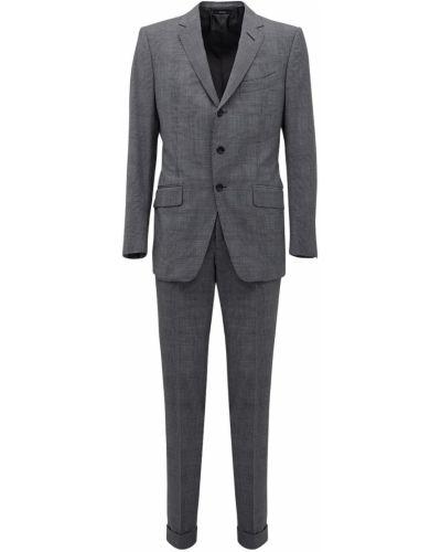 Шерстяной костюм - серый Tom Ford