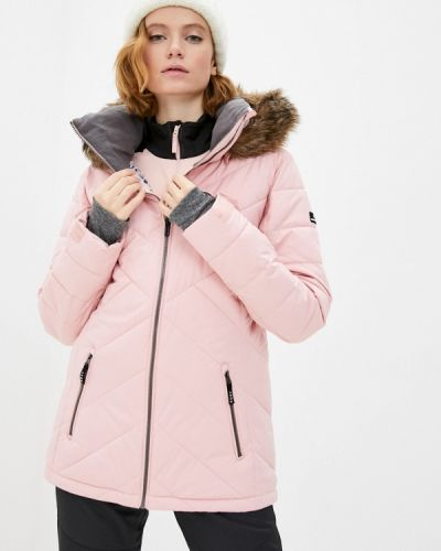 Розовая куртка горнолыжная Roxy