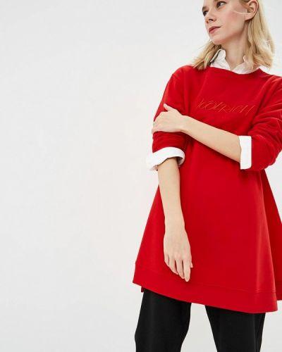 Красный свитшот Woolrich